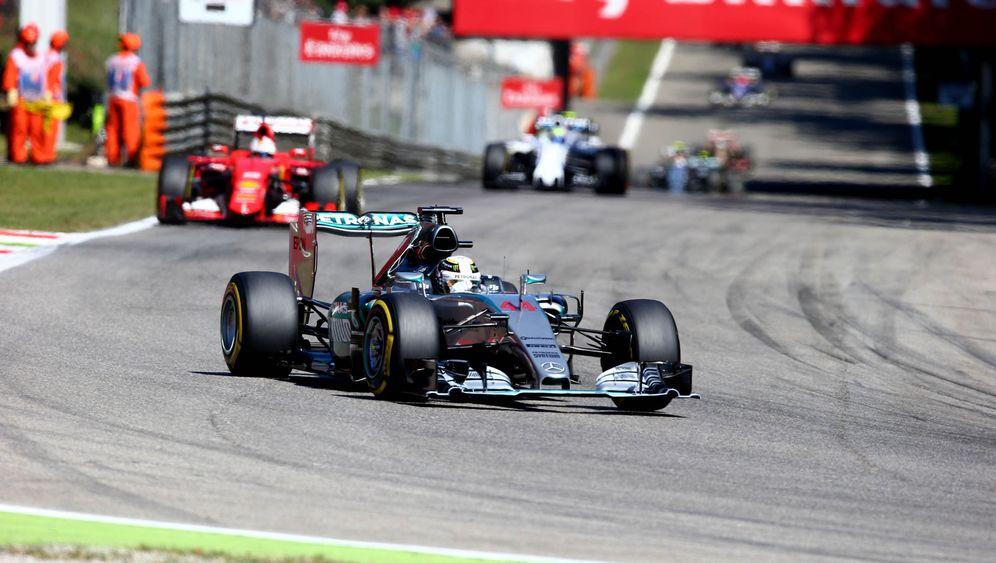 Fotostrecke: Hamilton siegt, Motorschaden bei Rosberg