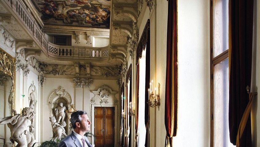 Präsidentschaftskandidat Hofer im Wiener Palais Daun-Kinsky: Pistole zum privaten Gebrauch