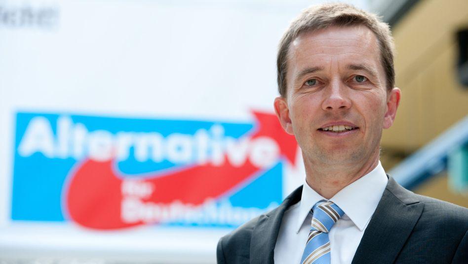 AfD-Chef Bernd Lucke: Fans auf der Insel