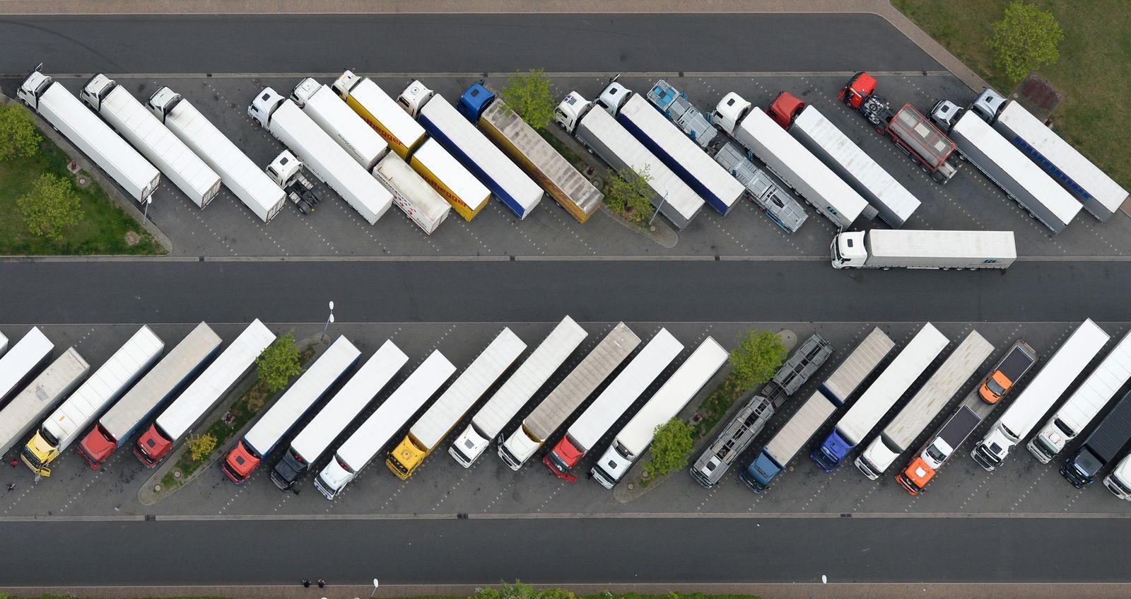 Ausbau der LKW-Parkplätze