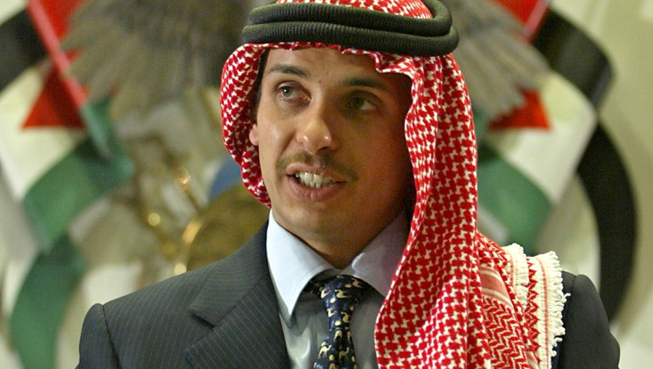 Ehemaliger Kronprinz Hamsa bin Hussein