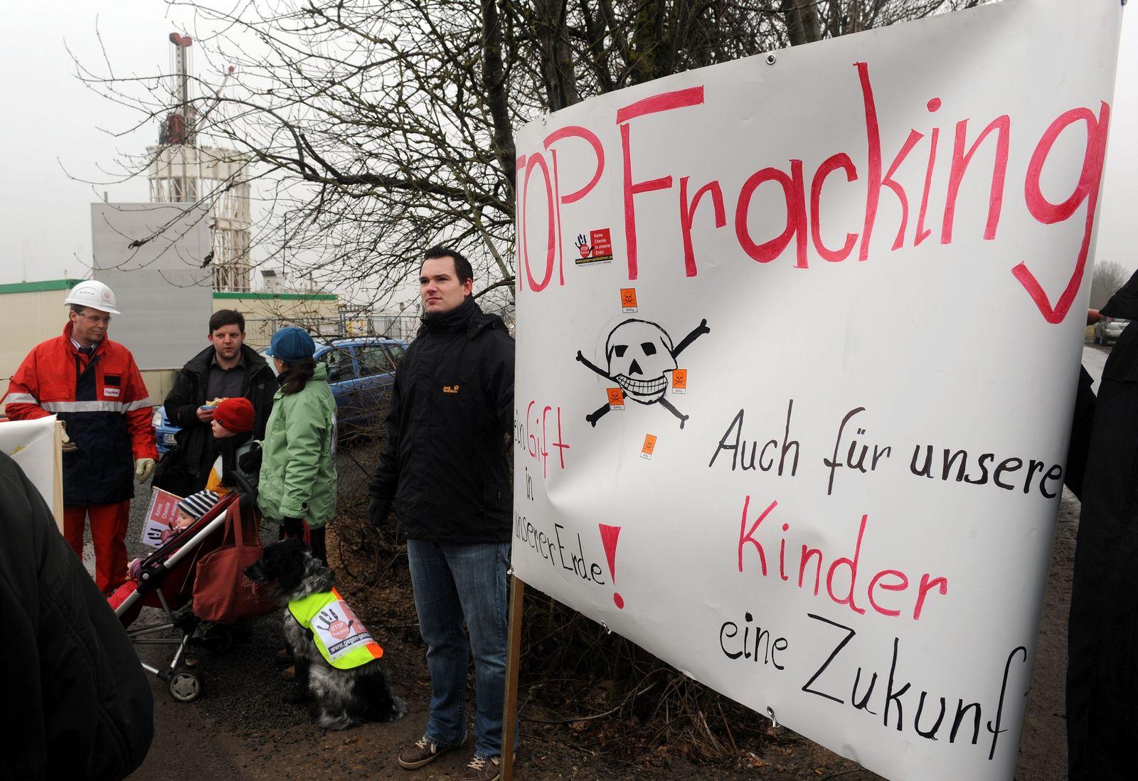 Fracking / Deutschland