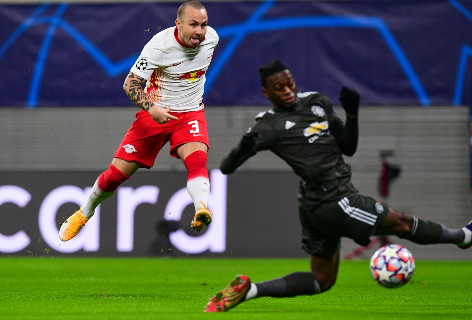 RB Leipzig vs Manchester United, Germany - 08 Dec 2020