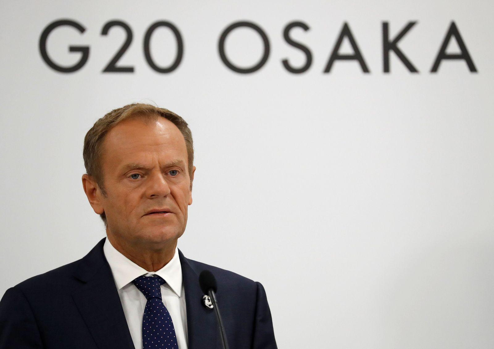 Tusk/ G20