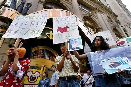 Anti-Disney-Proteste: Partner in der Kritik