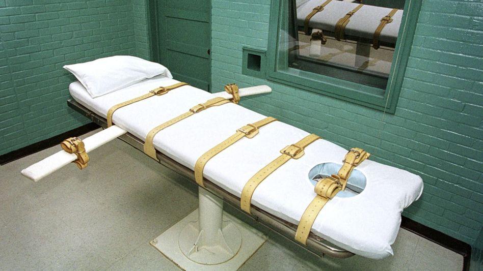 Todeszelle in einem Gefängnis in Texas (Archiv)