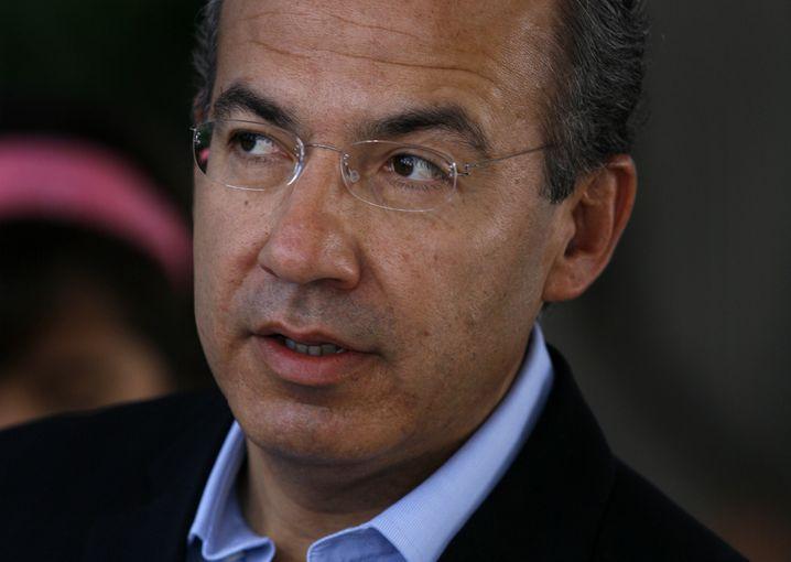 Mexikos Präsident Calderon: Niederlage bei den Parlamentswahlen