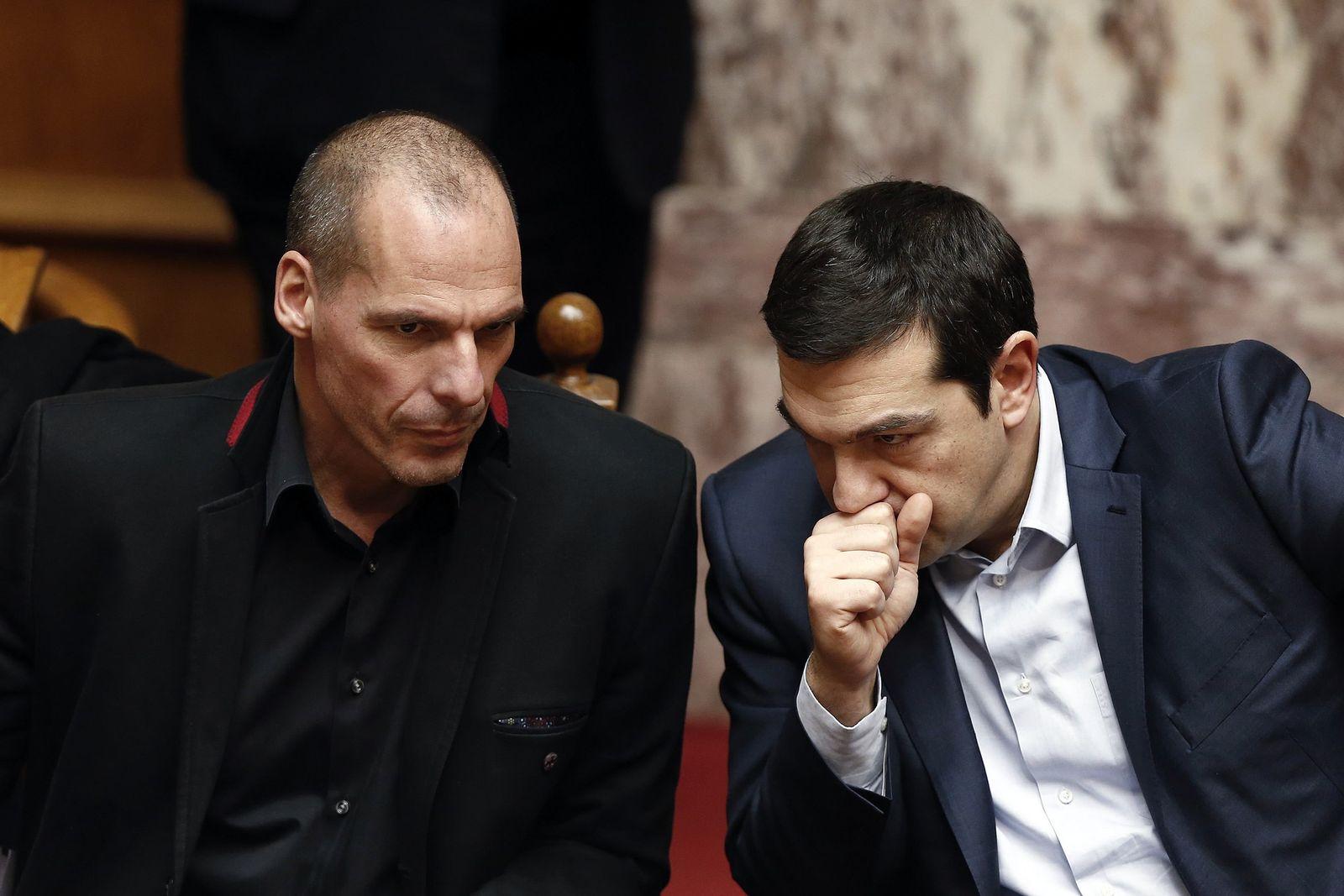 Varoufakis / Tsipras