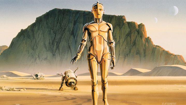 """Star-Wars-Designer McQuarrie: """"Mach es so, wie Ralph es gezeichnet hat"""""""