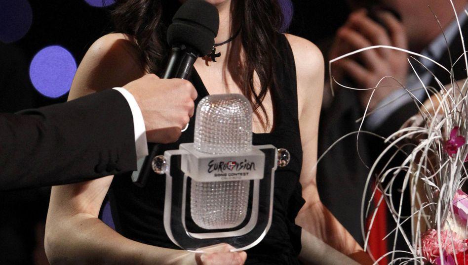 Eurovisionssiegerin Lena: Die Geschockte, die rockte