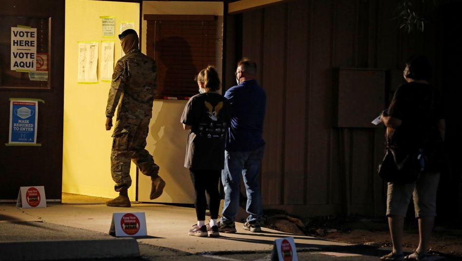 Wahllokal in Arizona