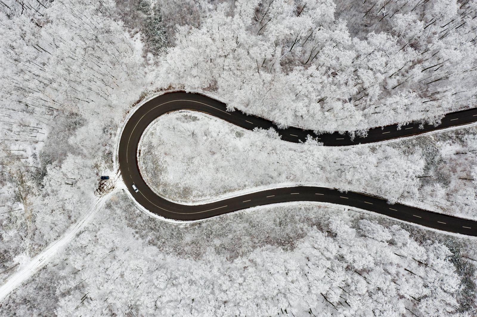 APTOPIX Hungary Weather