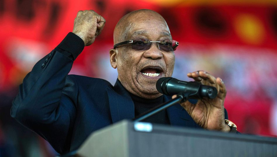 Jacob Zuma, Präsident von Südafrika und Chef des ANC