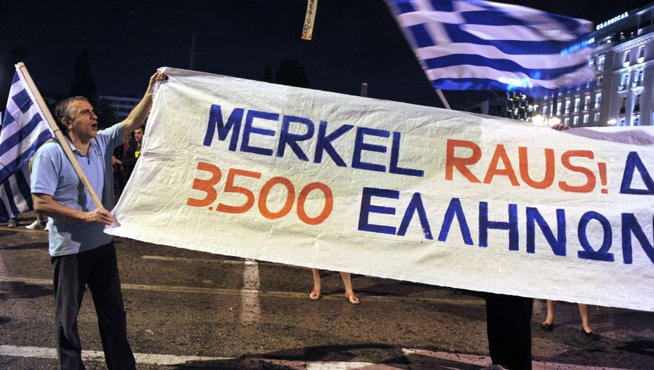 Besuch in Athen: Merkels teure Griechenland-Mission