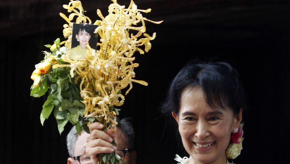 Photo Gallery: Burma's Suu Kyi, Free at Last