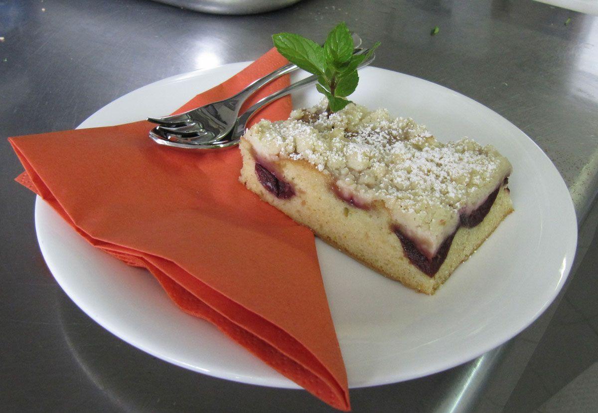 EINMALIGE VERWENDUNG KaSP vegane Küche / Streuselkuchen