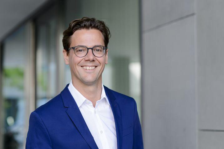Marketingchef Benjamin Reininger