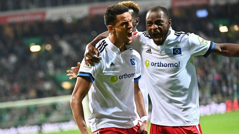Nordderby-Sieger: Der Hamburger SV