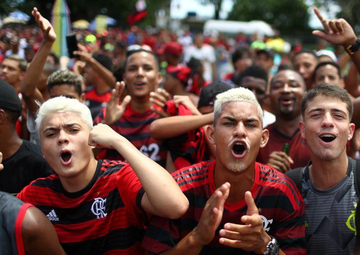 42 Millionen Fans soll Flamengo in Brasilien haben.