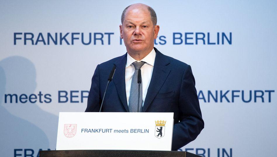 Finanzminister Olaf Scholz (Archiv)