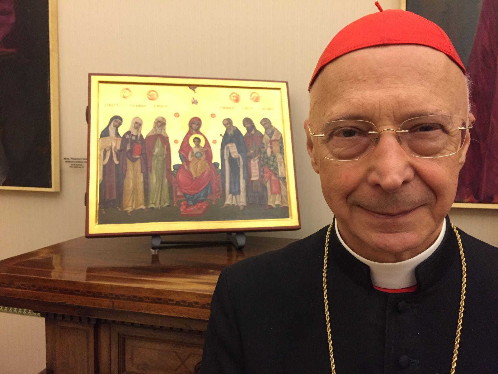EINMALIGE VERWENDUNG Kardinal Angelo Bagnasco