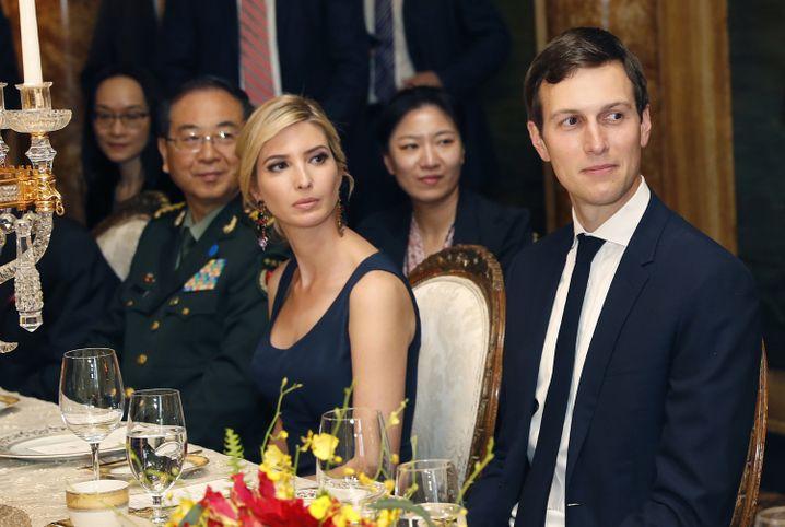 Ivanka Trump und ihr Mann Jared Kushner bei einem Dinner mit Präsident Xi Jinping in Florida