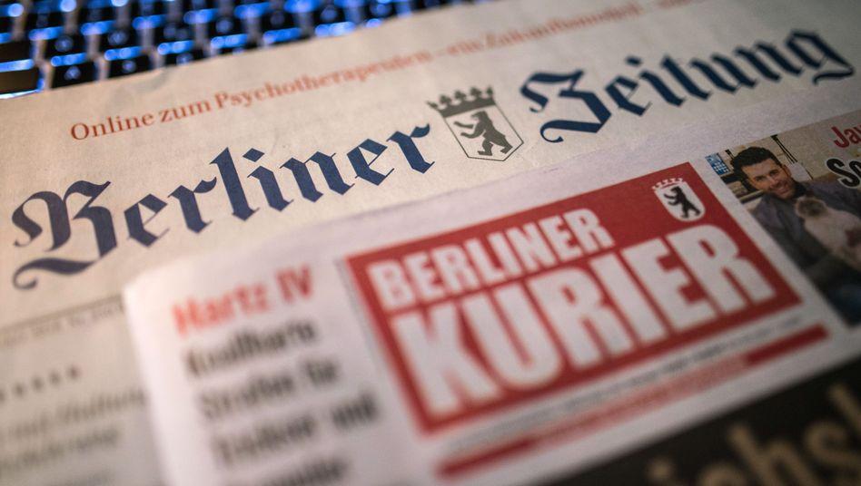 """Mussten immer wieder Einschnitte einstecken: """"Berliner Zeitung"""" und """"Berliner Kurier"""""""