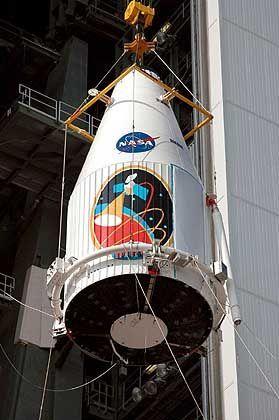 Vierte Mars-Sonde: Der Orbiter wird voraussichtlich am morgigen Mittwoch ins All geschossen