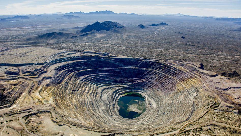 Kupfermine in Arizona, USA: Immer tiefer in die Erde