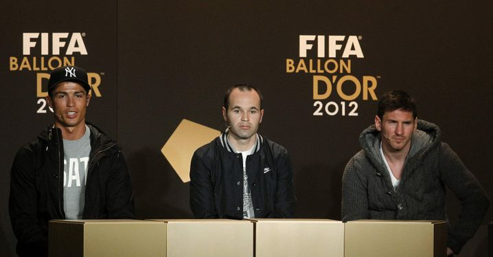 Ronaldo, Iniesta, Messi: Lacher, Schweiger, Diplomat