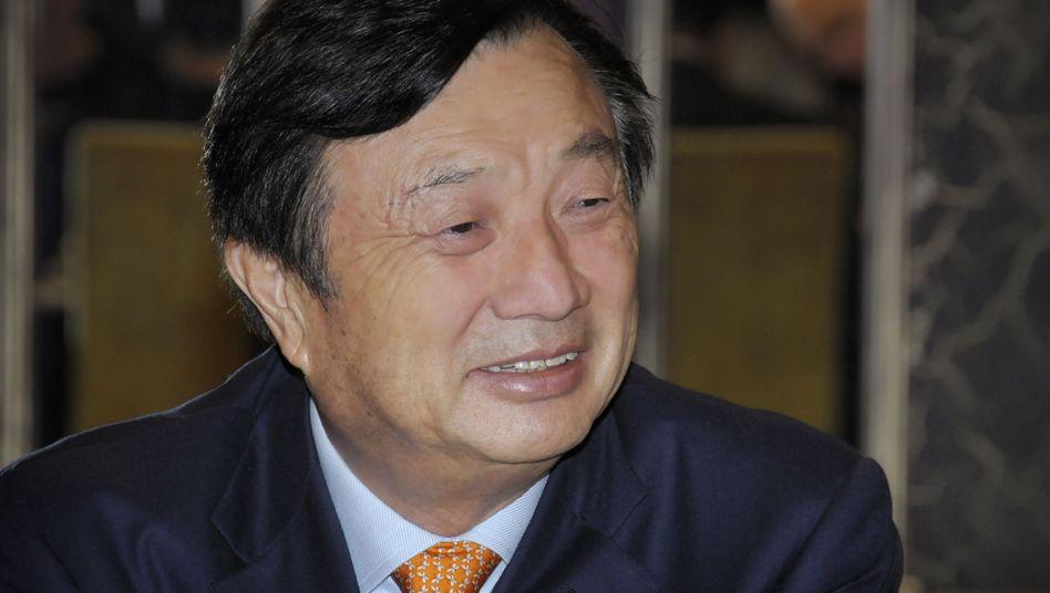 Ren Zhengfei beim Interview: 90 Minuten mit vier Journalisten
