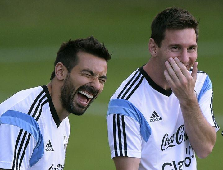 Lavezzi, Messi