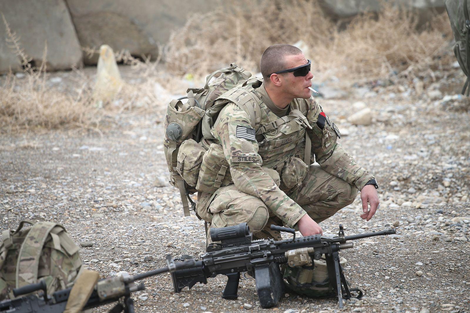 US-Soldat Afghanistan