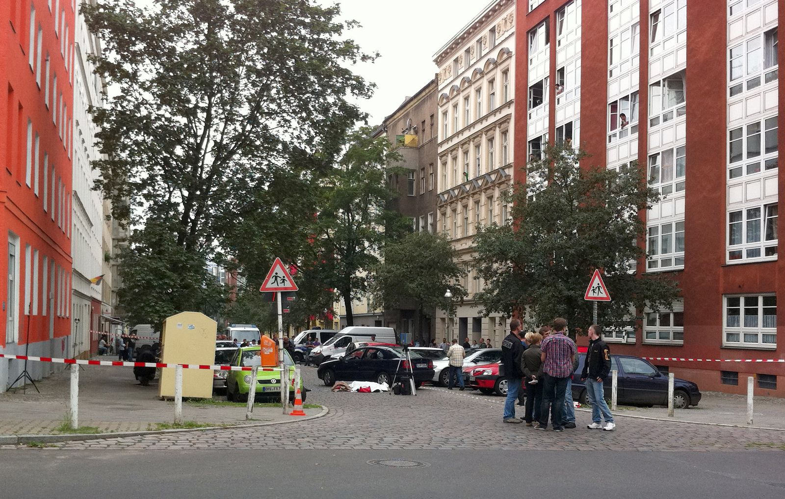 Schießerei in Berlin