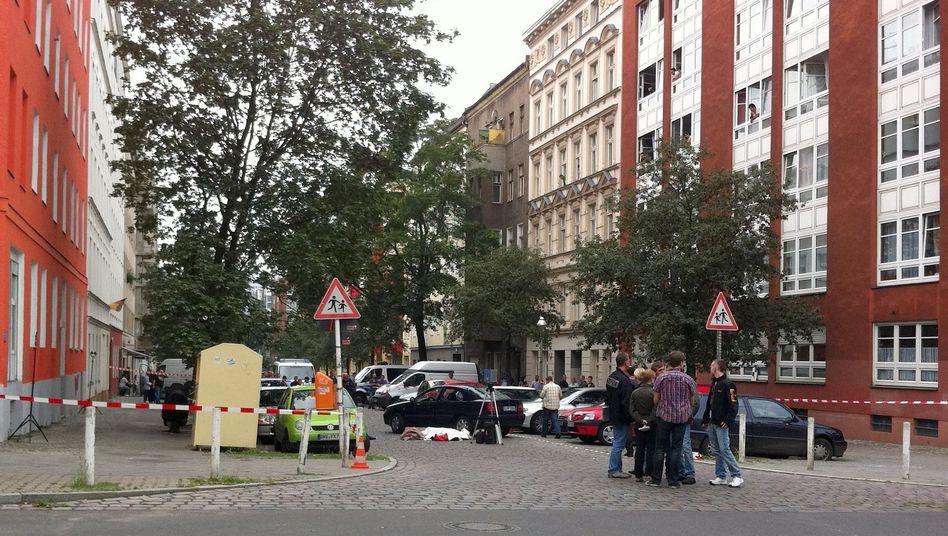 Tatort in Berlin: Schüsse mitten im Wohngebiet