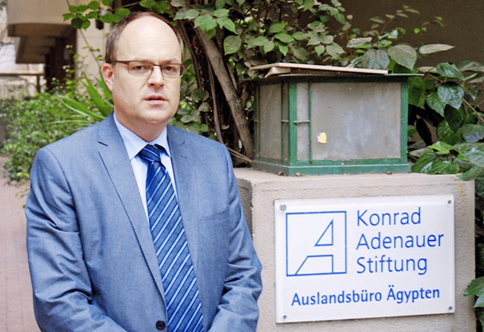 Andreas Jacobs - Büroleiter der Konrad-Adenauer-Stiftung in Kairo