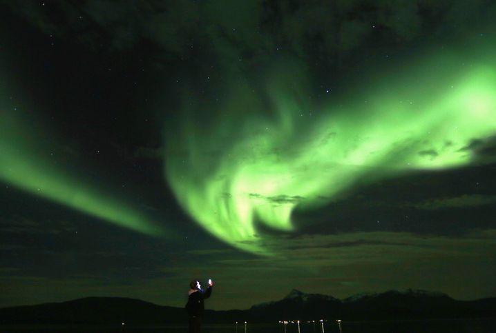 Polarlicht: Oktober ist eine gute Zeit für Lichtphänomen-Jäger
