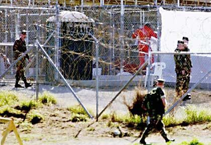 """The Guantanamo prison for suspected terrorists: """"We handle the matter appropriately."""""""