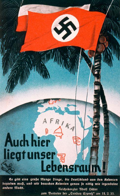 Nazipropaganda für die Wiedergewinnung der deutschen Kolonien (1934)