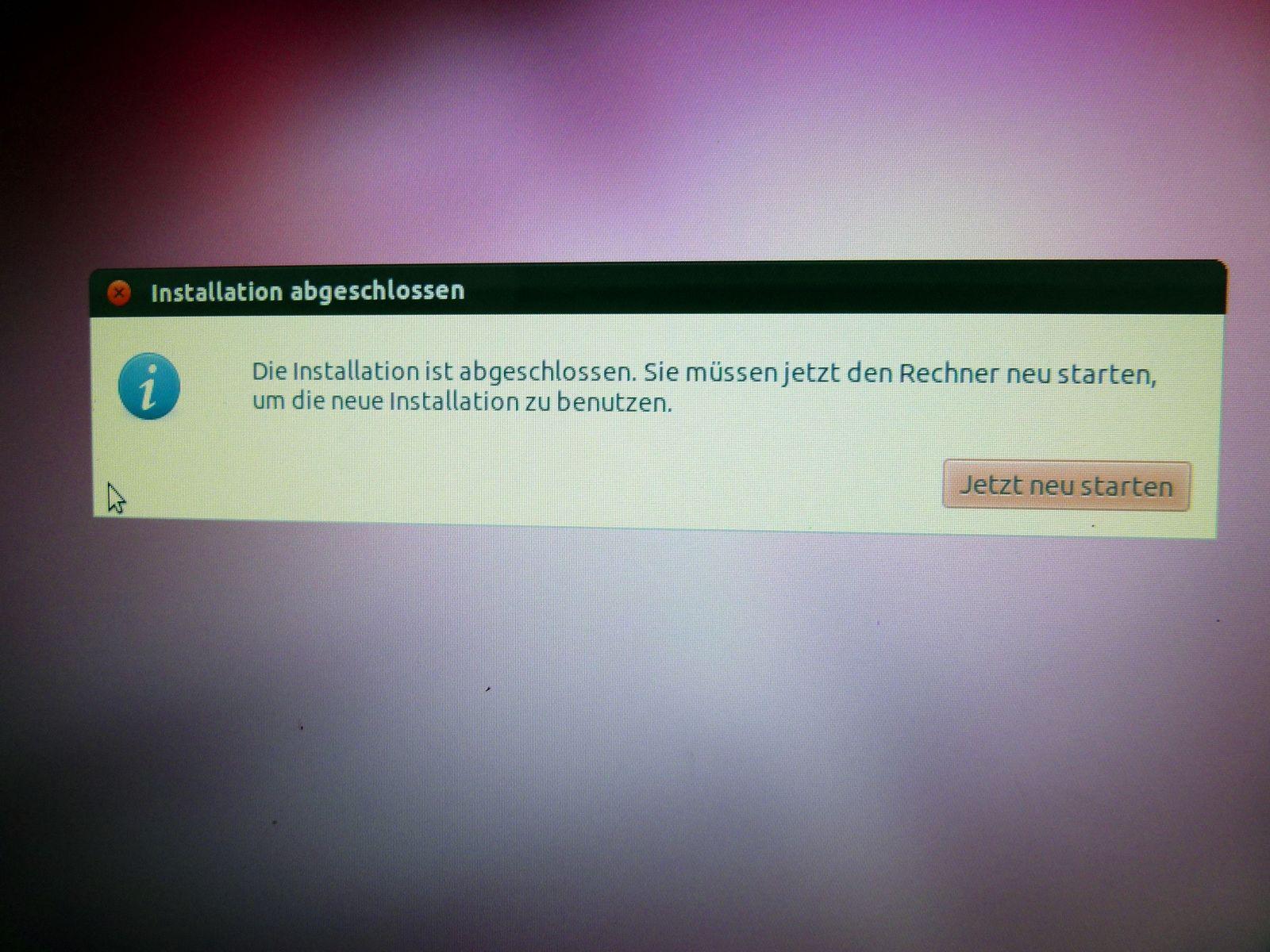 Ubuntu Installation #11