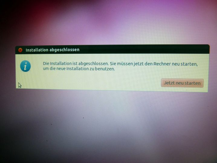 Das Ende, das ein Anfang ist: Ab jetzt läuft Ubuntu auf der alten Kiste