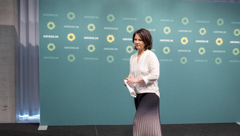 Grünenchefin Baerbock: Die Grünen waren schlicht ein bisschen egal an diesem Sonntag