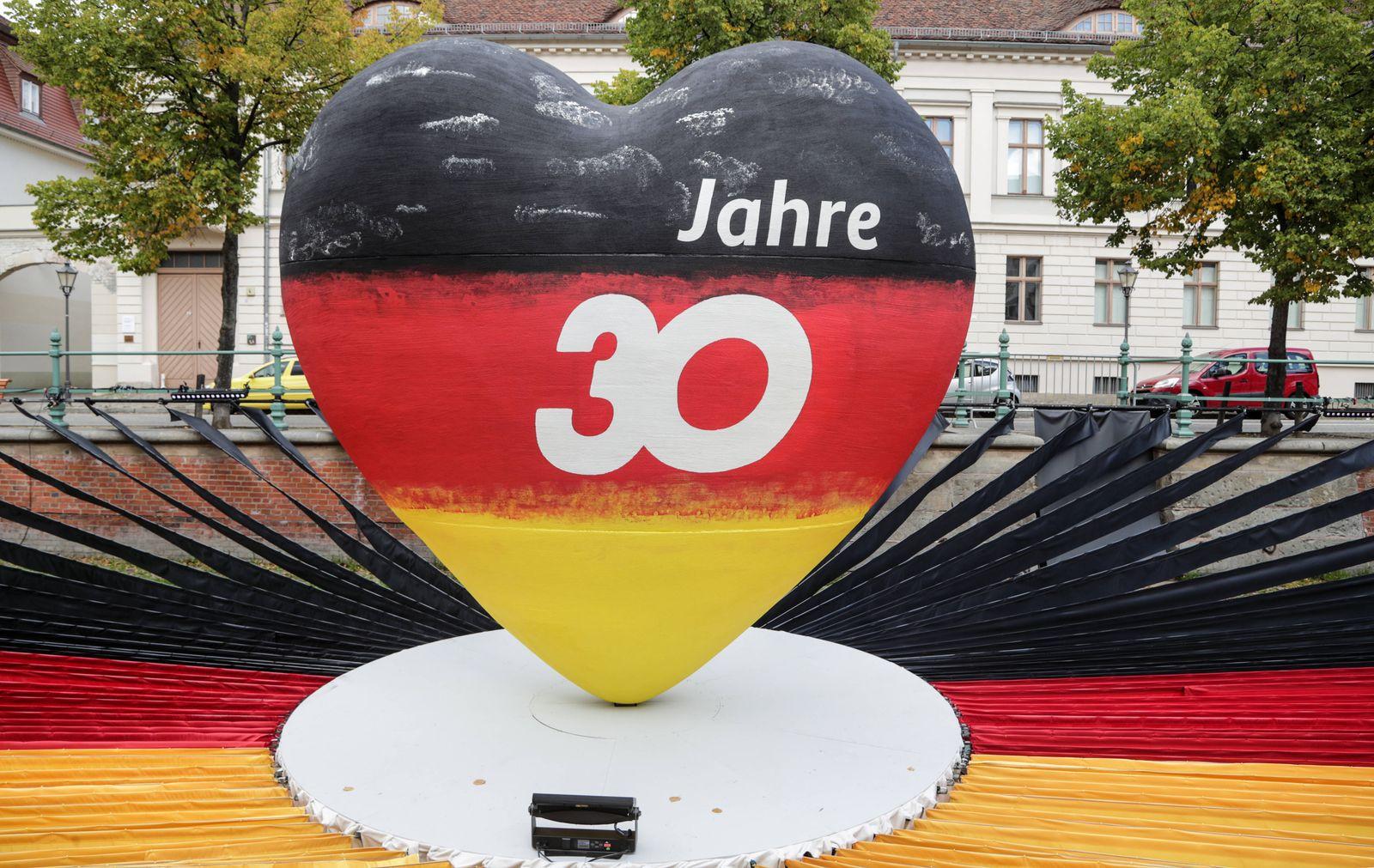 EinheitsEXPO 30. Jahrestag Deutsche Einheit Potsdam, 10.09.2020: EinheitsEXPO zum 30. Jahrestag der Deutschen Einheit.