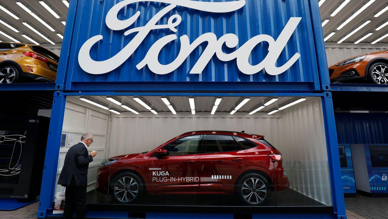 US-Börse: Ford schreibt Milliardenverlust – und investiert in Elektromobilität - DER SPIEGEL