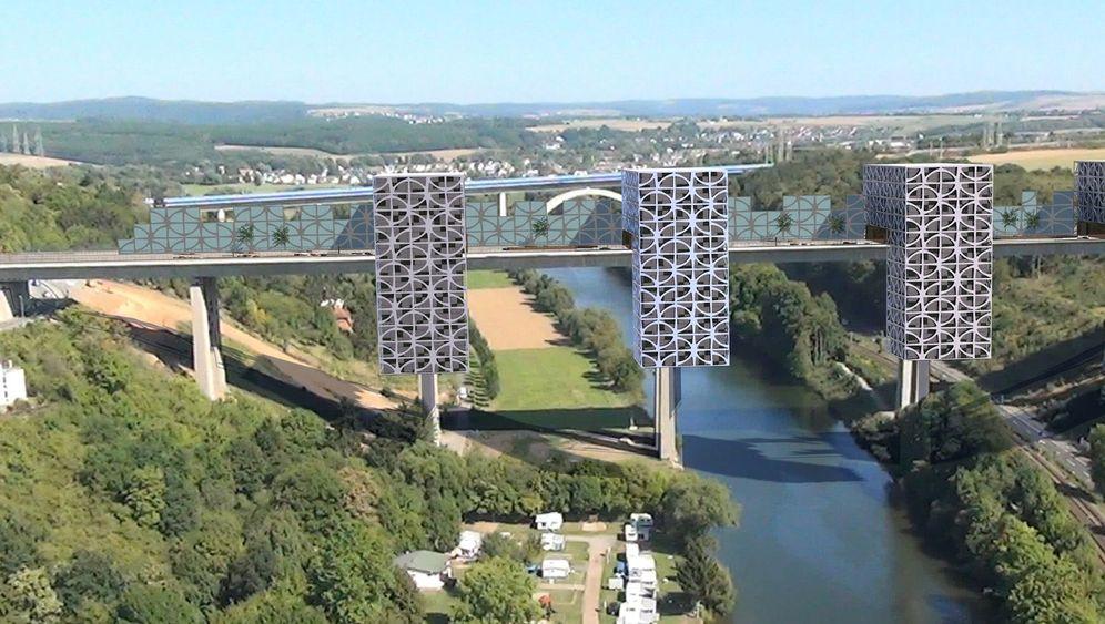 Lahntalbrücke Limburg: Investor plant Luxuswohnungen auf Autobahnbrücke