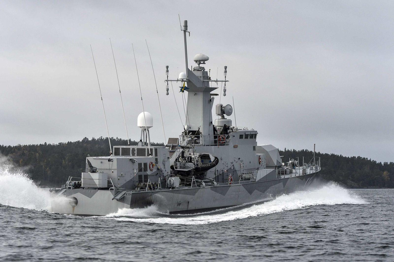 Schweden/ Suche nach U-Boot