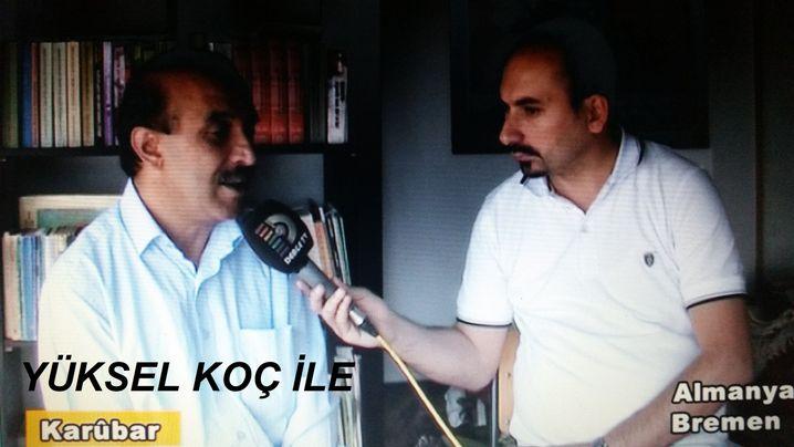 Kurden-Funktionär Koc, mutmaßlicher Spion S. Als kurdischer Journalist getarnt