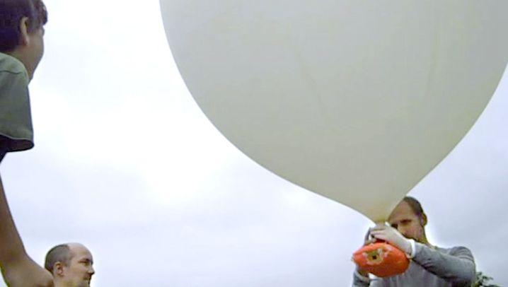Film aus der Ferne: Per Ballon ins All
