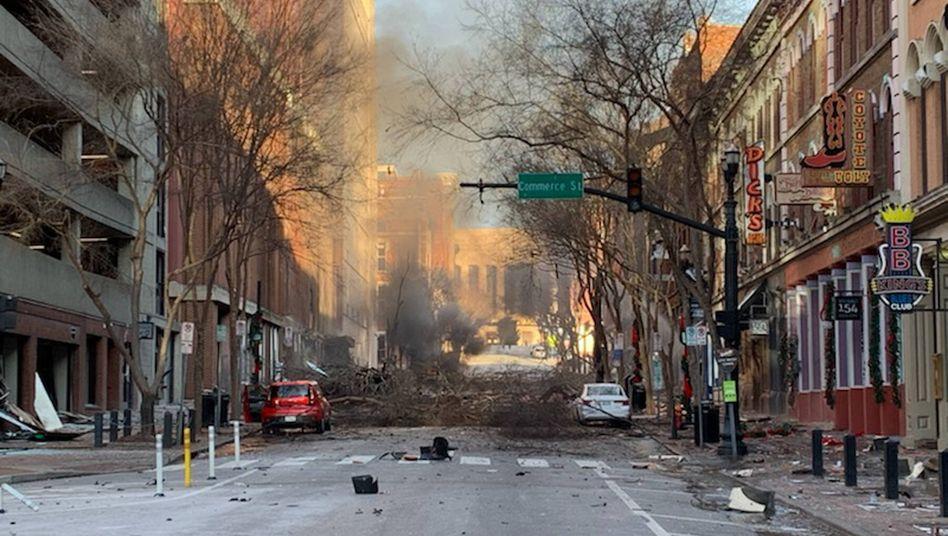 Bombenexplosion in Nashville