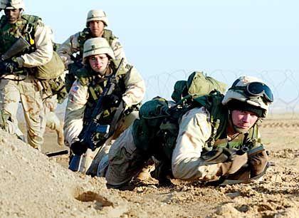 US-Soldaten beim Mannöver in Kuweit